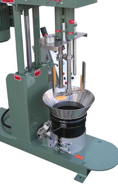Hot Melt Mixer Dual Shaft Model 550ai Myers Mixers
