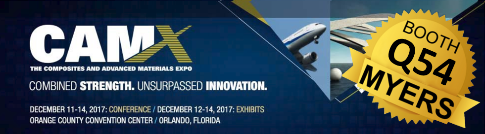 Myers Mixers at the Composites and Advanced Materials Expo (CAMX) Orlando