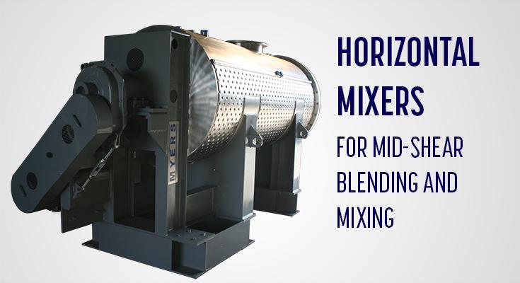 Myers Horizontal Mixer