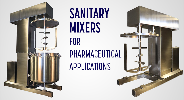 Sanitary Pharmaceutical Mixing Equipment