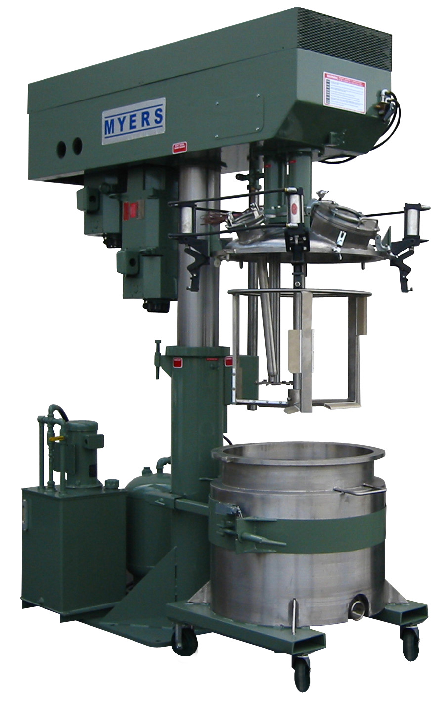Dual Shaft Model V550 Myers Mixers